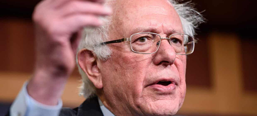 'Bernie Sanders' ideas have set the agenda for the Democratic party for the past two years.' (photo: Mandel Ngan/AFP/Getty Images)