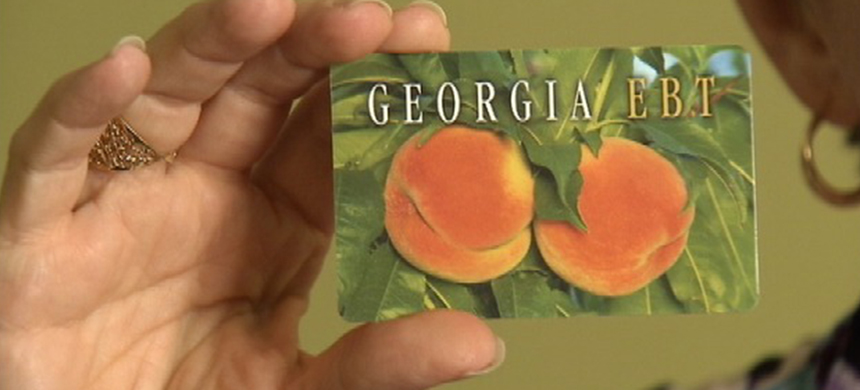 Georgia EBT card. (photo: WRCBTV)
