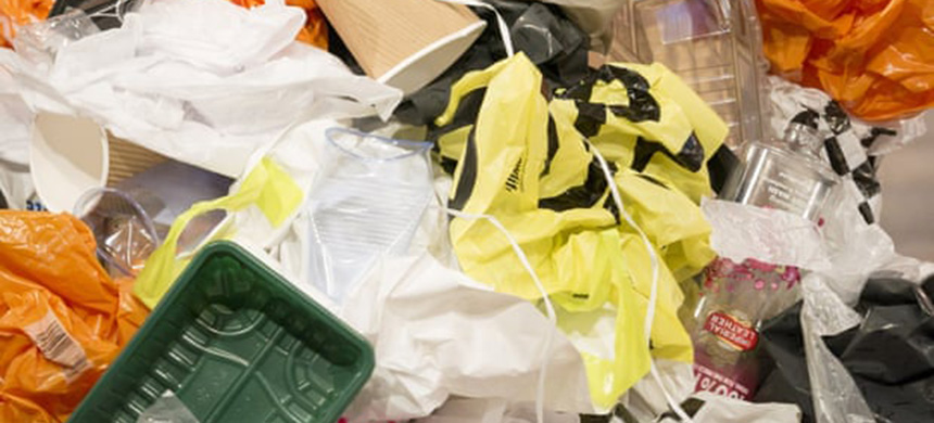 Plastic waste is more likely than ever to end up in a landfill or incinerator. (photo: S Meddle/ITV/REX/Shutterstock)