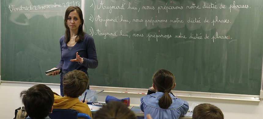 Teachers are leaving the profession citing long hours, low pay and disrespect. (photo: Getty Images)