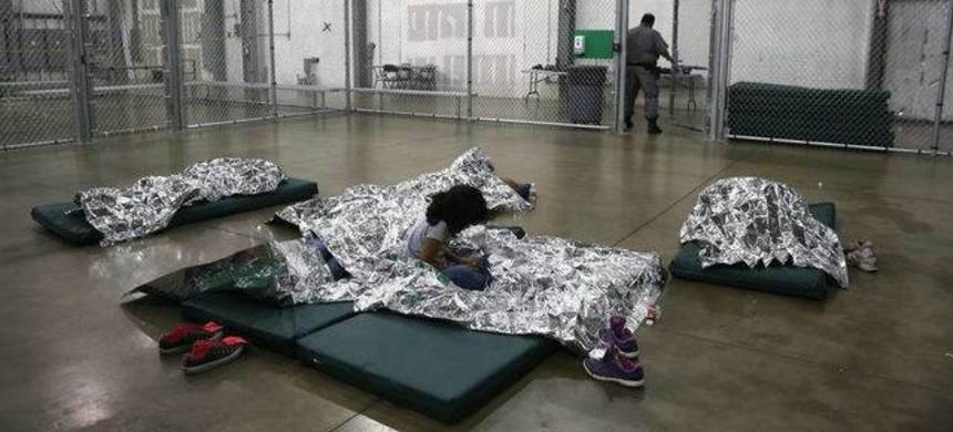 Videos show staffers pushing and dragging migrant children in a shelter operated by Southwest Key, the nation's largest provider of migrant children shelters. (photo: CNN)