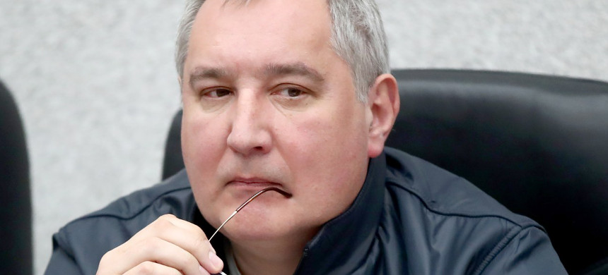 NASA administrator Jim Bridenstine has extended an invitation to sanctioned Russian official and ultranationalist Dimitry Rogozin. (photo: Valery Sharifulintass/Getty)