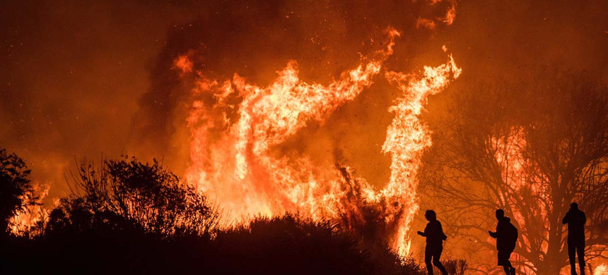 California wildfires. (photo: Getty)
