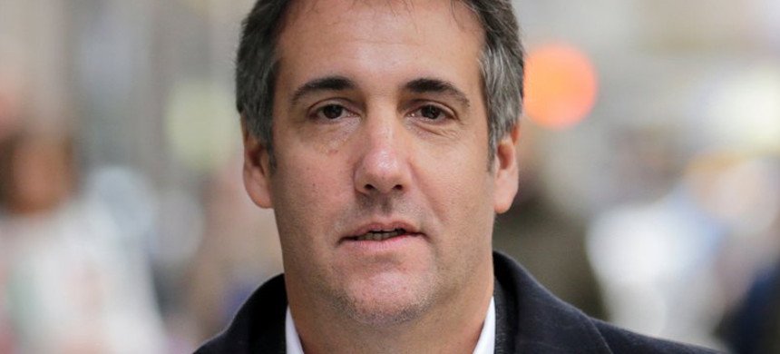 Michael Cohen, Donald Trump's former lawyer. (photo: Seth Wenig/AP)