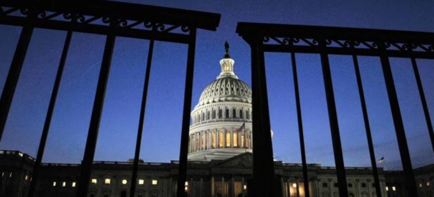 The partial closure of the federal government began on December 22. (photo: WP)