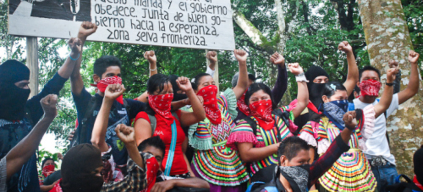 Since their 1994 uprising, the Zapatista Army of National Liberation has been a global reference for revolutionary movements. (photo: NP)