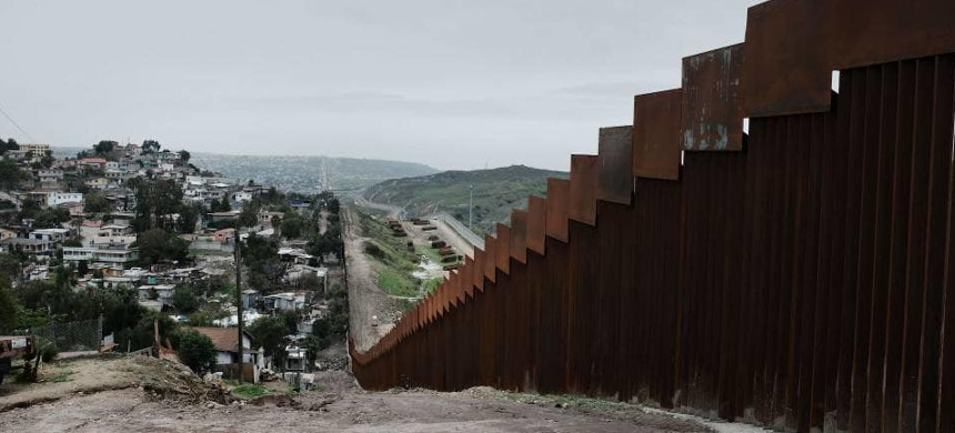 Border wall. (photo: Getty)