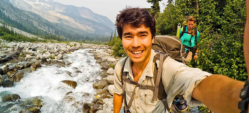 Christian missionary John Allen Chau, 26, who died of November 17 on a remote island. (photo: REX/Shutterstock)
