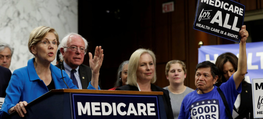Democrats sponsor Medicare-for-All bill. (photo: Getty)