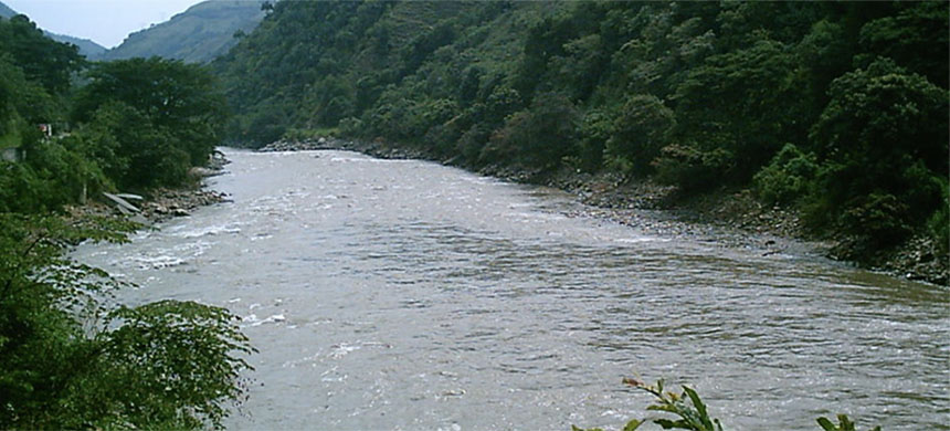 Cauca River. (photo: Wikimedia Commons)