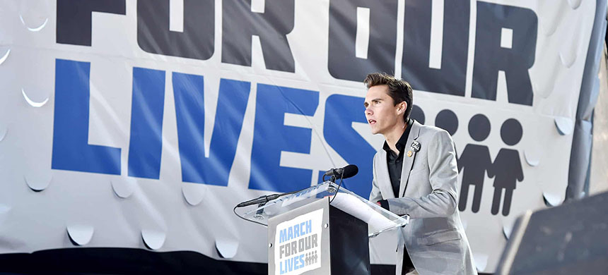 David Hogg and other Parkland activists are focusing on the quiet, unglamorous work of grassroots organizing. (photo: Kevin Mazur/Getty Images/March For Our Lives)