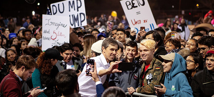 Beto O'Rourke. (photo: Christ Chavez/Getty Images)