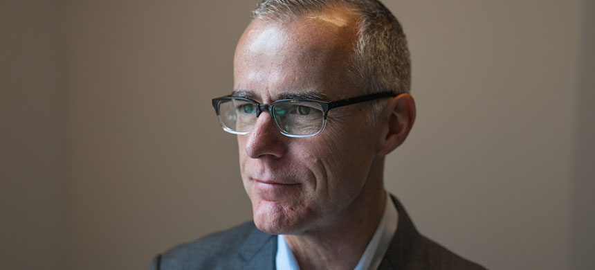 Andrew McCabe. (photo: Amr Alfiky/NPR)
