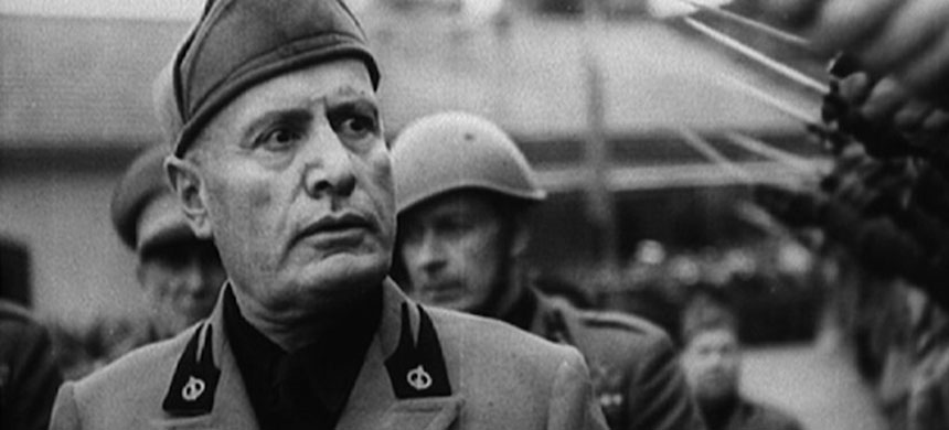 Italian dictator Benito Mussolini. (photo: unknown)