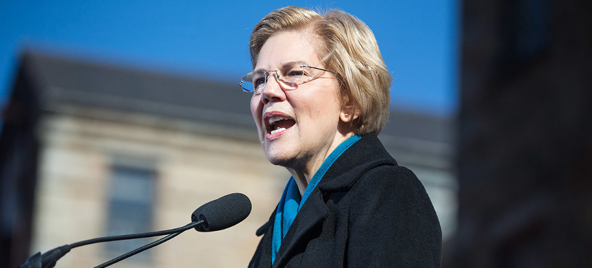 Elizabeth Warren. (photo: Scott Eisen/Getty Images)