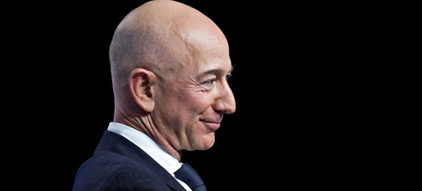 Amazon founder Jeff Bezos. (photo: Andrew Harrer/Getty)