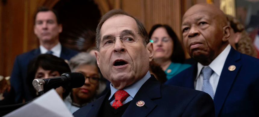 'This is a critical time for our nation, and we have a responsibility to investigate these matters and hold hearings for the public to have all the facts,' House Judiciary Committee Chairman Jerrold Nadler (D-NY) said in a statement. (photo: J. Scott Applewhite/AP)