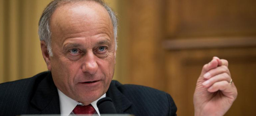 Representative Steve King. (photo: Drew Angerer/Getty)