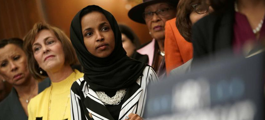 Representative Ilhan Omar. (photo: Getty Images)