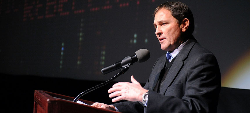 Governor Gary Herbert of Utah. (photo: Fred Hayes/Getty Images)