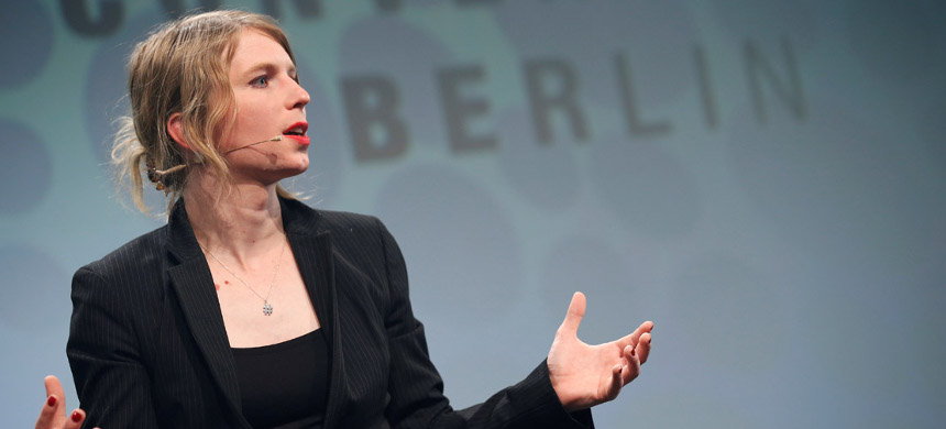 Whistleblower Chelsea Manning. (photo: AP)