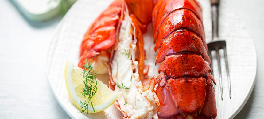 Lobster tail. (photo: Getty)