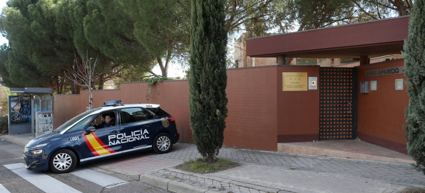 The North Korean embassy in Madrid. (photo: Uly Martin/El Pais)