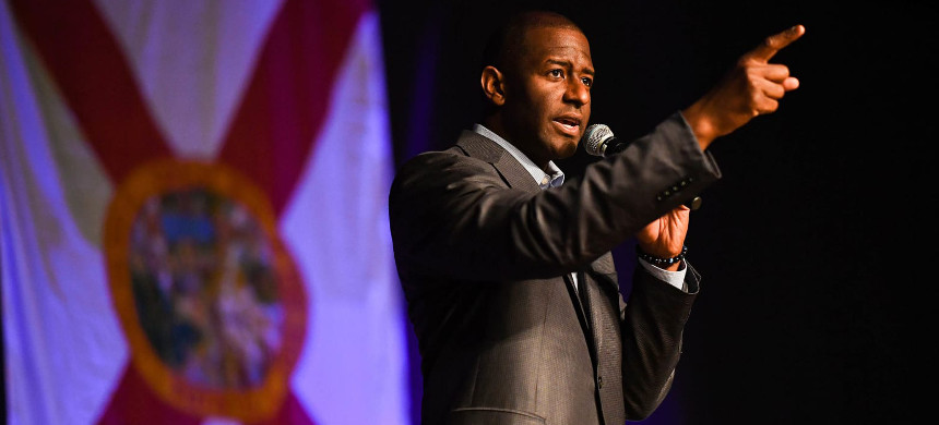 Andrew Gillum Plans to Sign Up 1 Million New Florida Voters. (photo: Jeff J. Mitchell/Getty)
