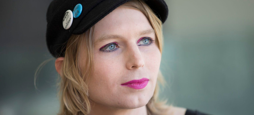 Chelsea Manning. (photo: Getty)
