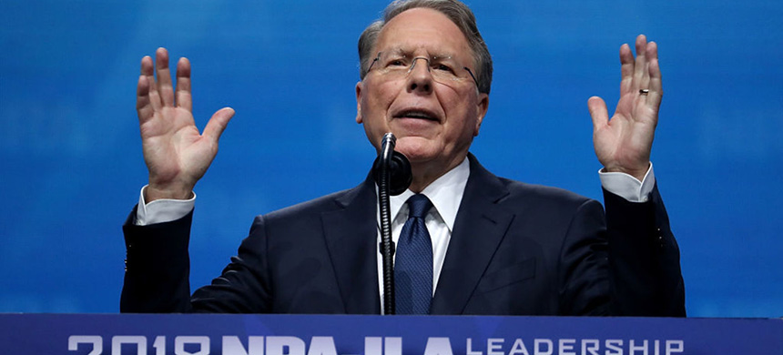 NRA executive vice president, Wayne LaPierre. (photo: Getty Images)