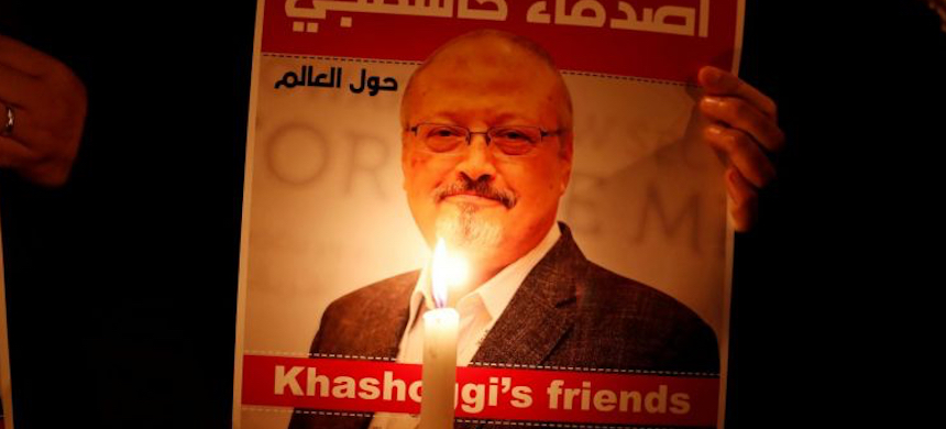 Prosecutors are seeking the death penalty for five operatives who traveled from Riyadh to Istanbul and were in the consulate when Jamal Khashoggi was killed. (photo: Reuters)