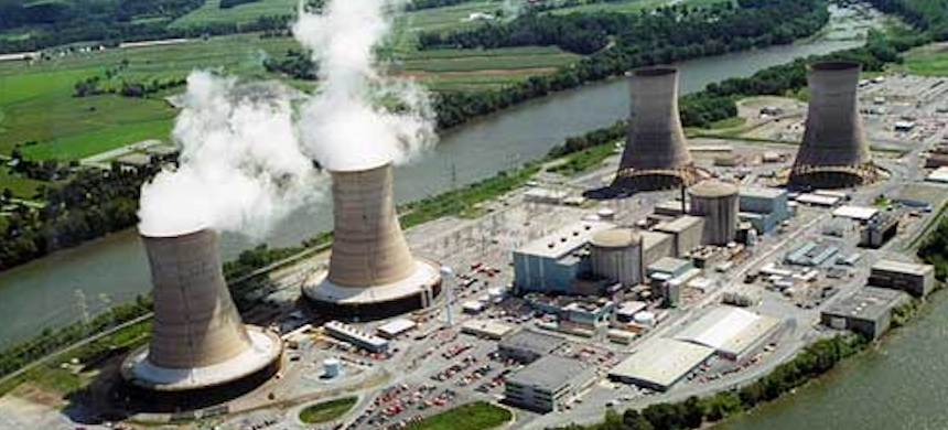 The Three Mile Island Nuclear Generating Station. (photo: AJ)