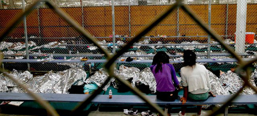 Immigrant detention facility. (photo: Getty)
