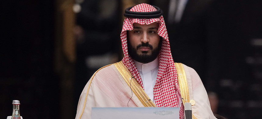 The new wave of detentions has been seen as a statement of power by Crown Prince Mohammed bin Salman. (photo: Adnan Abidi/Reuters)