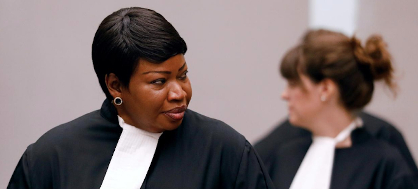 Public Prosecutor Fatou Bensouda attends the trial of Congolese warlord Bosco Ntaganda at the ICC (International Criminal Court) in the Hague, the Netherlands, August 28, 2018. (photo: Bas Czerwinski/Reuters)