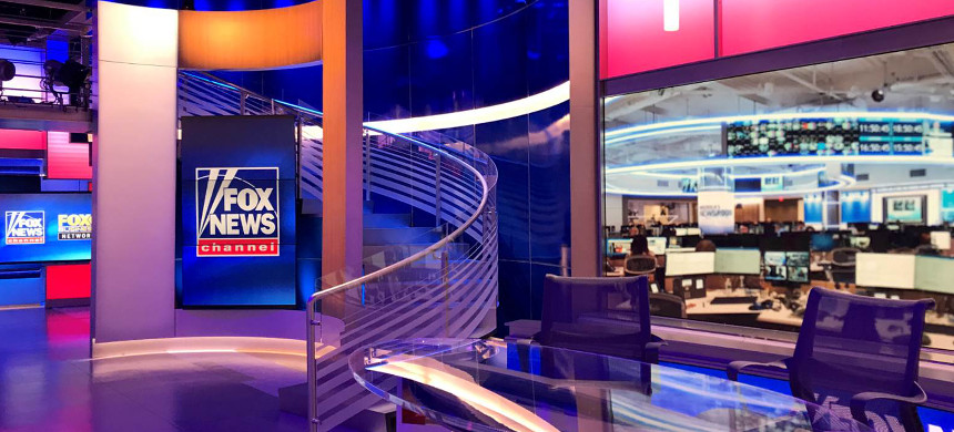 Fox News studio. (photo: AP)