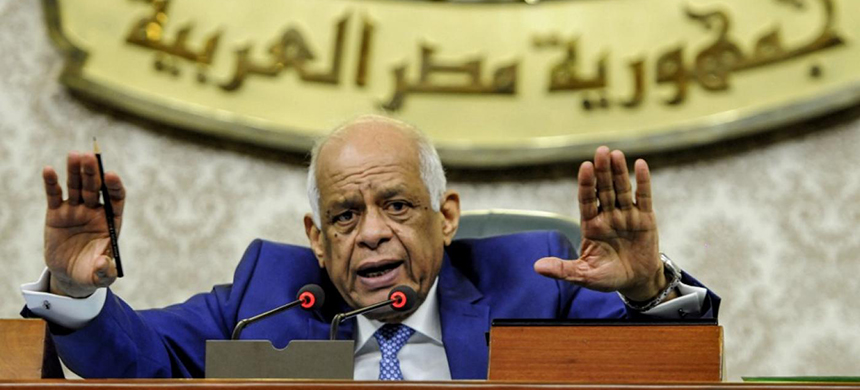 Egypt's parliament speaker Ali Abdel Aal has said that a 'brand new constitution' would be drafted within the next 10 years. (photo: AFP)
