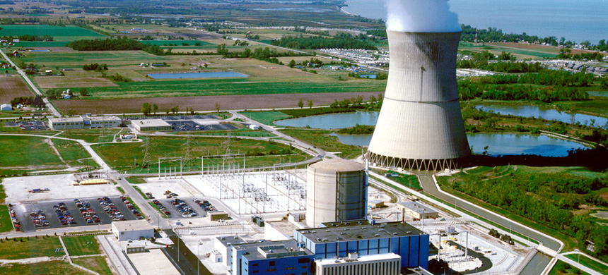 Davis-Besse Nuclear Power Station. (photo: FirstEnergy Corp.)