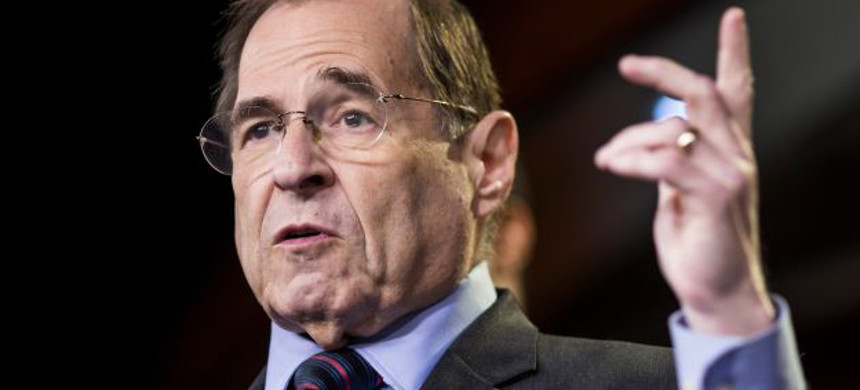 House Judiciary Committee Chairman Jerry Nadler. (photo: Zach Gibson/Getty)