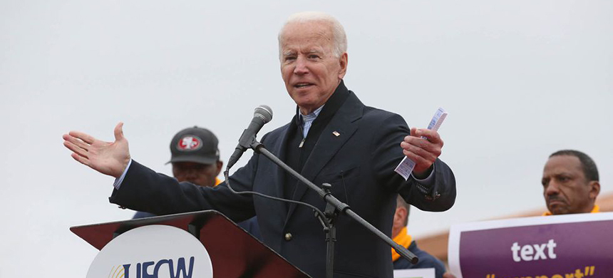 Joe Biden. (photo: Getty Images)
