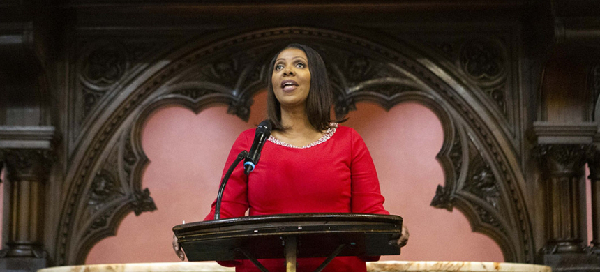 New York Attorney General Letitia James. (photo: Emil Cohen/New York City Council Office)
