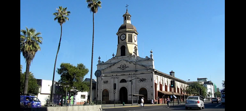 Church of Recoleta Franciscana in Recoleta, one of the thirty-seven municipalities that make up Greater Santiago, Chile. (photo: PhotoBucket)