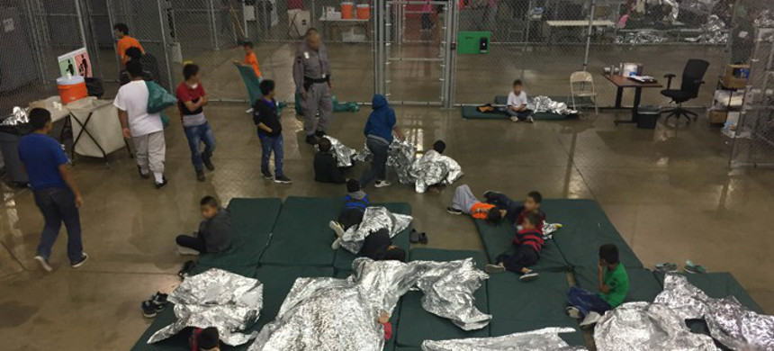 Immigrant detention center. (photo: Getty)