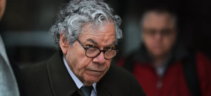 Insys Therapeutics founder John Kapoor leaves federal court in Boston on March 13, 2019. (photo: Pat Greenhouse/Getty Images)