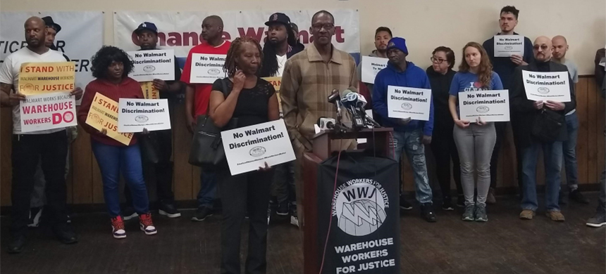 Walmart Workers for Justice. (photo: Warehouse Workers for Justice)