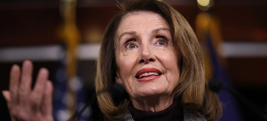Speaker of the House Nancy Pelosi. (photo: Win McNamee/Getty Images)