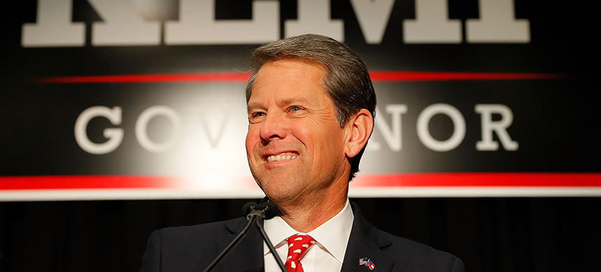 Brian Kemp. (photo: Getty Images)