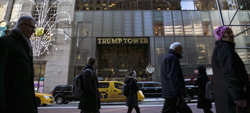 Trump Tower. (photo: Getty)