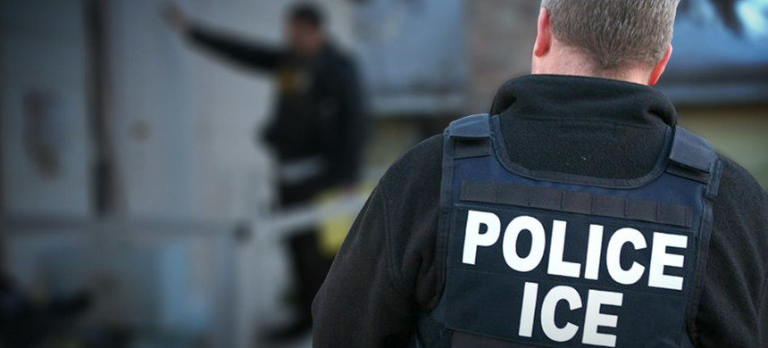 Immigration and Customs Enforcement officers. (photo: ICE)