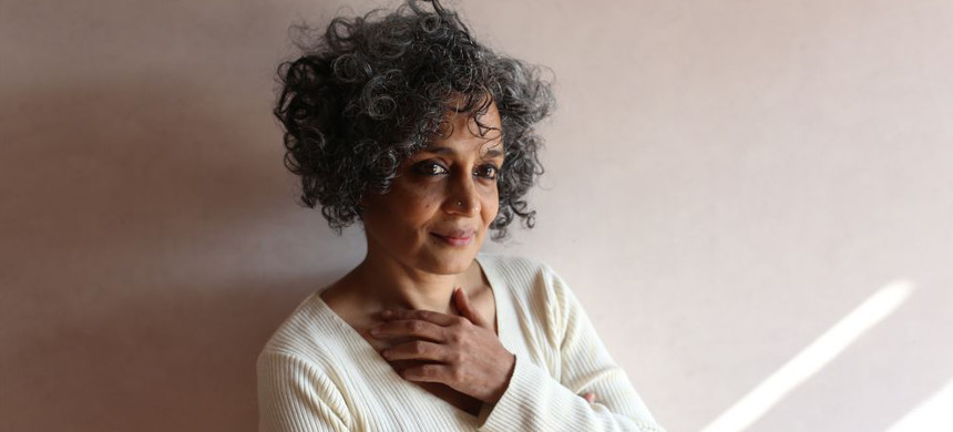Arundhati Roy. (photo: Auckland Writers Festival)